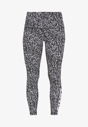 LOGO LEGGING - Pyjama bottoms - caviar