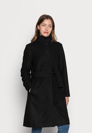 CILJA CREW COAT - Klasický kabát - black