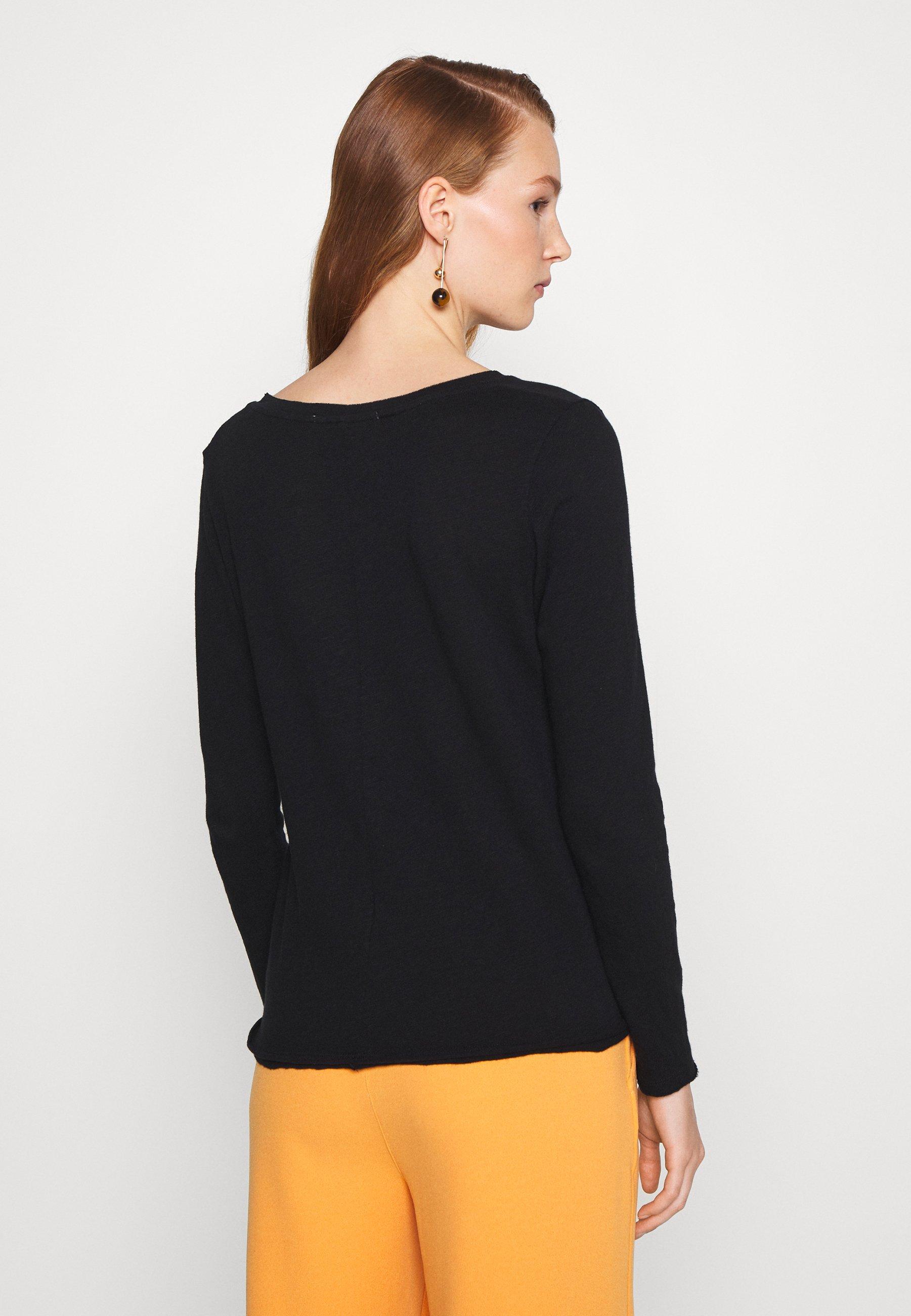 The Cheapest Women's Clothing American Vintage SONOMA Long sleeved top noir GDfkkFKfG