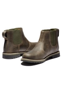 Timberland - LARCHMONT II CHELSEA - Boots - olive full grain - 3