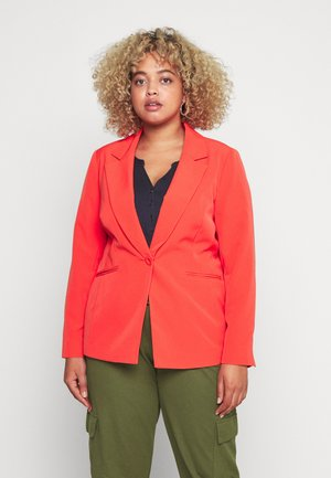 PRESS BLAZER STYLE - Kort kåpe / frakk - tomato red