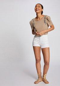 Morgan - Denim shorts - off-white - 1