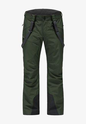 LUMI FORM PANT - Snow pants - fjell green