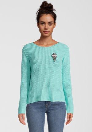 Pullover - azure