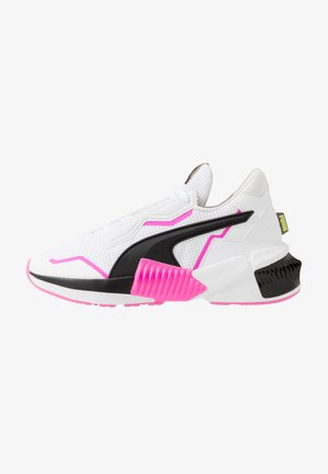 PROVOKE XT - Sports shoes - white/black/luminous pink
