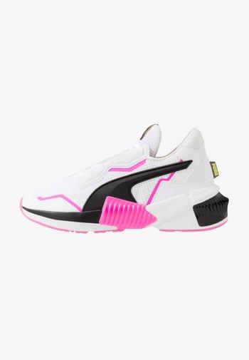 PROVOKE XT - Treningssko - white/black/luminous pink