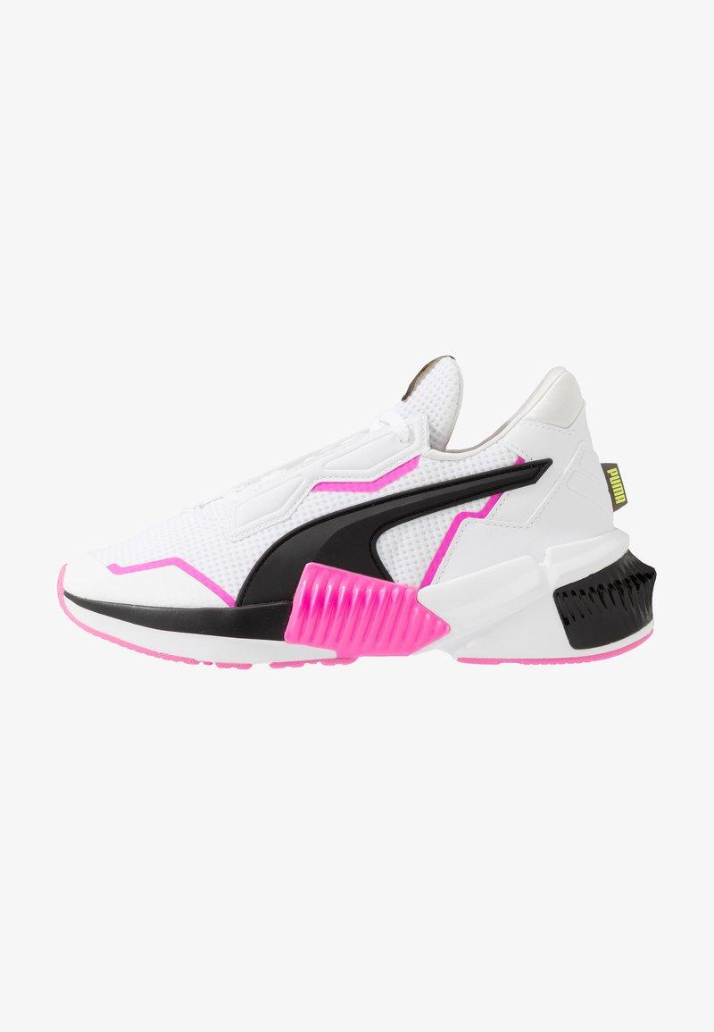 Puma - PROVOKE XT - Zapatillas de entrenamiento - white/black/luminous pink