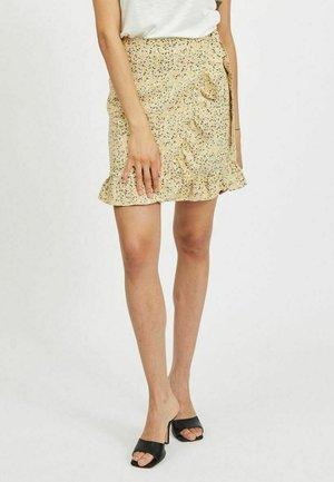 VILOVIE - Wrap skirt - humus