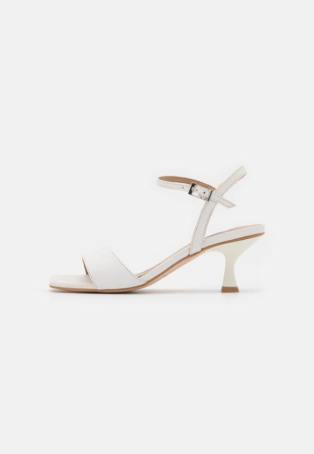 AGNES - Sandals - white