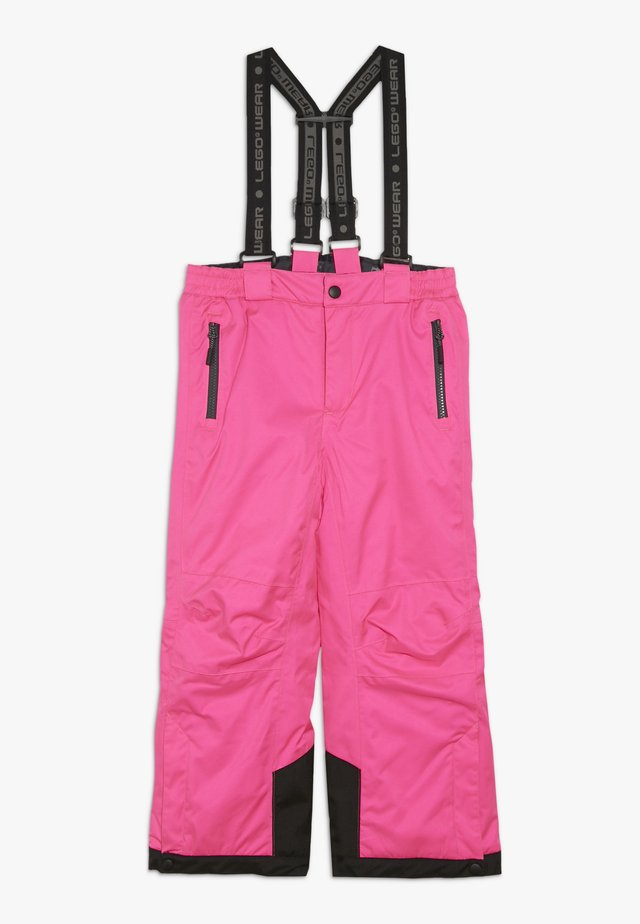 PLATON 725 SKI PANTS - Pantaloni da neve - dark pink