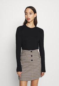 ONLY - ONLJANNE - Long sleeved top - black - 0