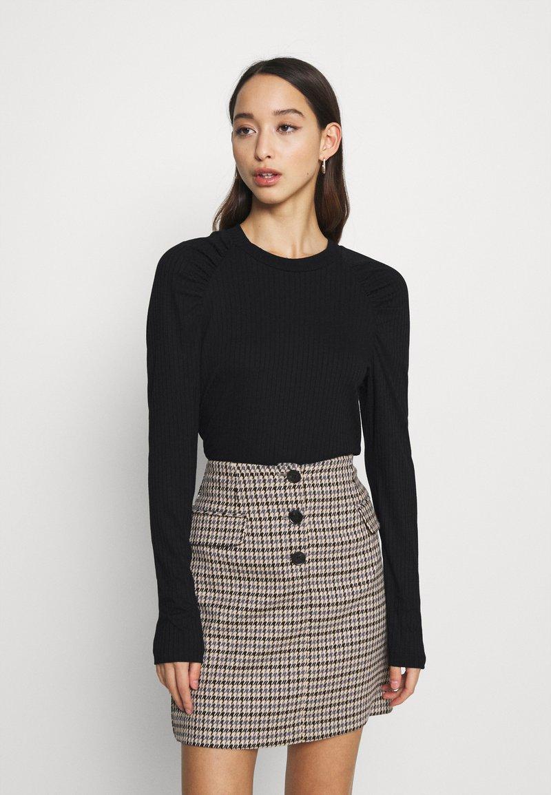 ONLY - ONLJANNE - Long sleeved top - black
