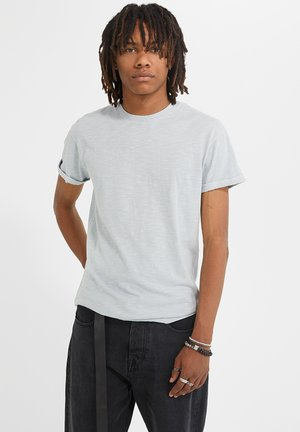ZANDER SLUB  - T-shirt basic - vintage flash grey