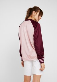 adidas Originals - LONGSLEEVE - Top sdlouhým rukávem - pink spirit/maroon - 2