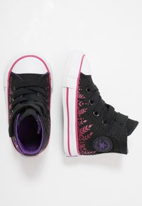 Converse - CHUCK TAYLOR ALL STAR FROZEN - High-top trainers - black/cherries jubilee/white - 1