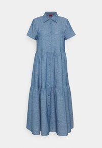 HUGO - ENNISH - Košilové šaty - medium blue - 6