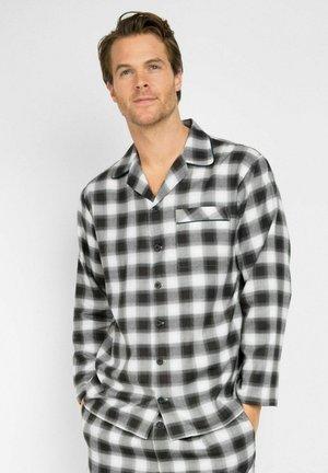 WILLIAM - Maglia del pigiama - black/teal
