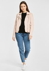 Gipsy - PGG LABAGV - Leather jacket - pink - 1