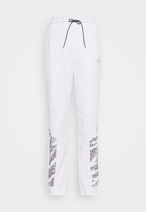 REBEL HIGH WAIST PANTS  - Pantaloni sportivi - puma white