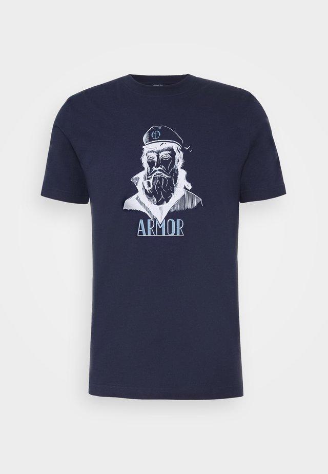 Print T-shirt - navire/marin