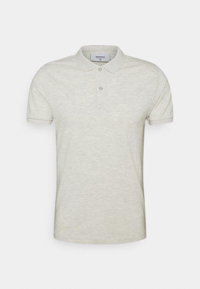 OVERDYED - Polo - light grey/silver