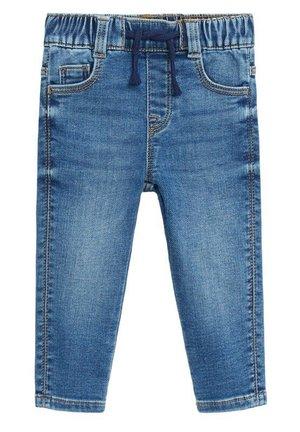 DOMFY - Slim fit jeans - středně modrá
