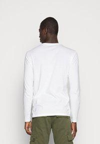 Marc O'Polo - LONG SLEEVE ROUND NECK - Långärmad tröja - white - 2