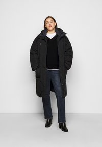 Lee Plus - ELONGATED PUFFER - Classic coat - black - 1