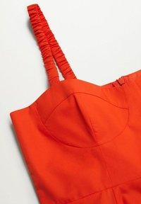 Mango - Vestido informal - rojo - 6