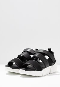 Shoe The Bear - MALA SPORT  - Platform sandals - black - 4