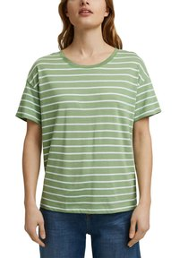Esprit - Print T-shirt - leaf green - 4