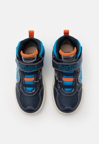 Geox - GRAYJAY BOY - Sneakersy wysokie - navy/light blue - 3