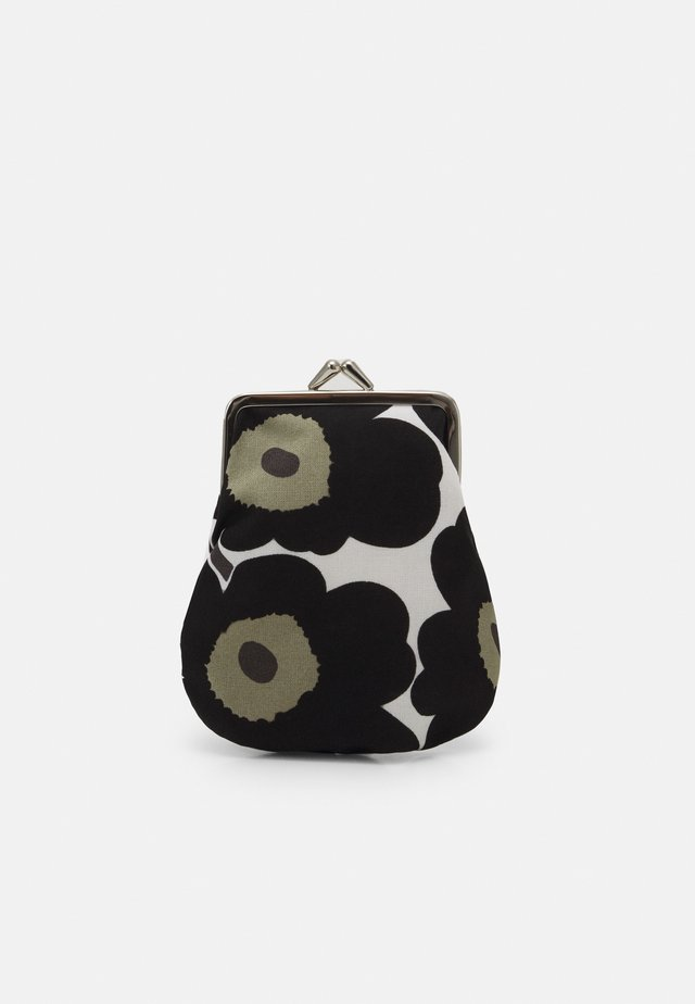 PIENI KUKKARO MINI UNIKKO PURSE - Lompakko - white/black/olive