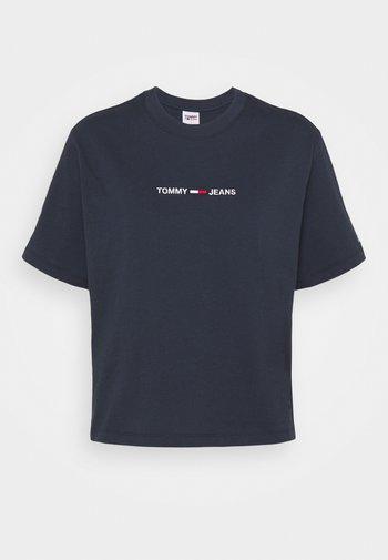 LINEAR LOGO TEE - T-shirts print - twilight navy