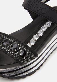 Liu Jo Jeans - MAXI - Platform sandals - black - 6