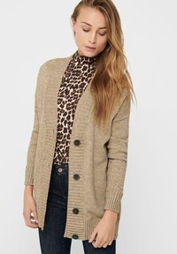 ONLY - ONLSANDY BUTTON CARDIGAN - Gilet - pumice stone - 3