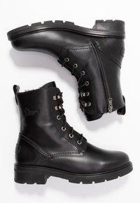 Panama Jack - LILIAN IGLOO - Lace-up ankle boots - black - 3