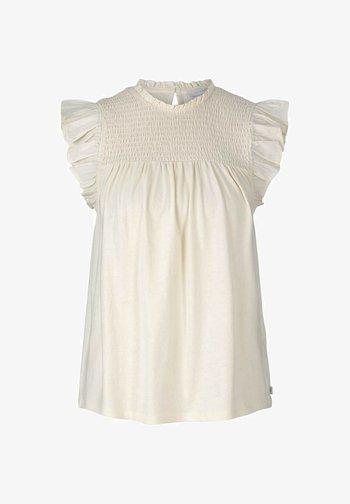 Bluse - soft creme beige