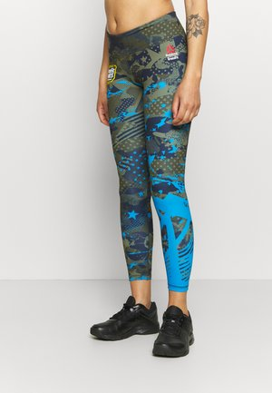 LUX BOLD - Leggings - poplar green