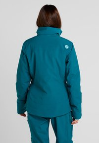 PYUA - BLISTER - Snowboard jacket - petrol blue - 3