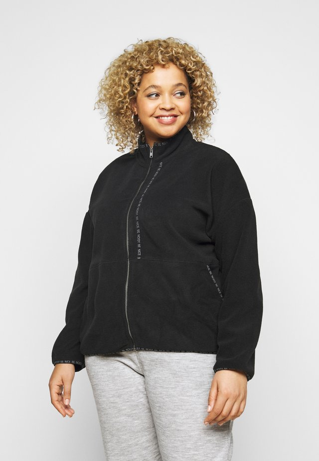 NMKITTY ZIP CARDIGAN - Chaquetas bomber - black