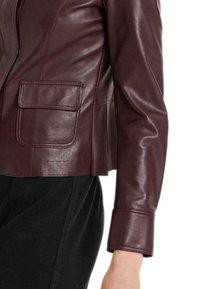 Marc Cain - Light jacket - aubergine - 3