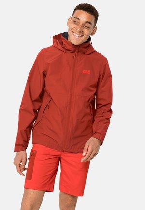 Snowboard jacket - dark red