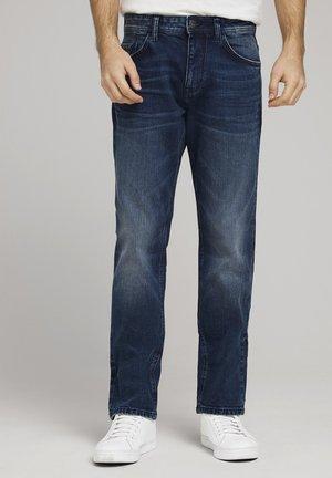 Slim fit jeans - mid stone wash denim