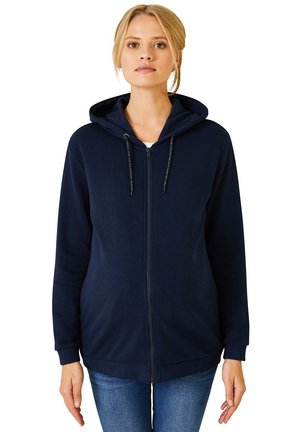 Zip-up hoodie - nachtblau