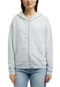 edc by Esprit - Zip-up sweatshirt - light blue lavender - 5
