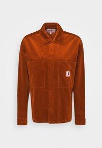 Carhartt WIP - FOYA SHIRT JACKET - Summer jacket - brandy - 5