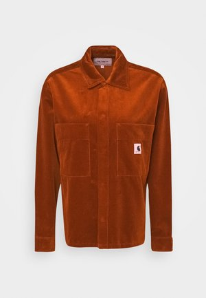 FOYA SHIRT JACKET - Summer jacket - brandy