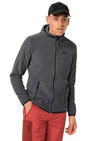 Jack Wolfskin - Fleece jacket - black stripes - 0