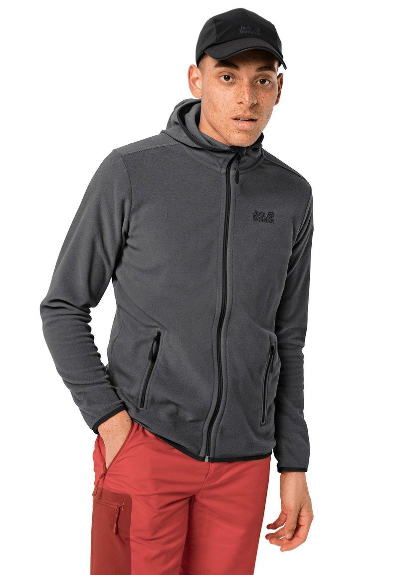 Jack Wolfskin - Fleece jacket - black stripes